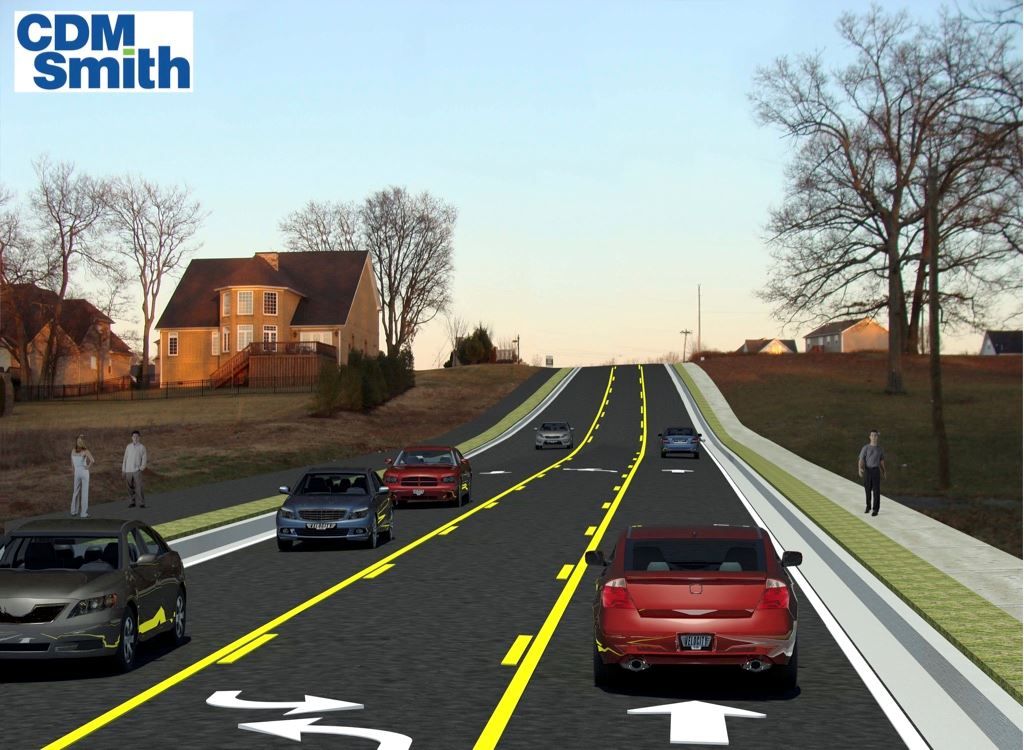 Duplex Road widening design