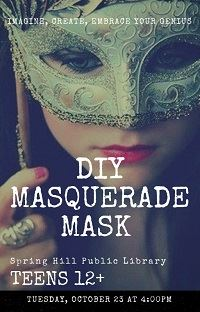 DIY MASQUERADE MASK thumb