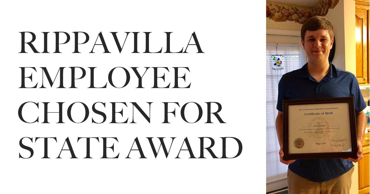 Rippavilla employee chosen for state award