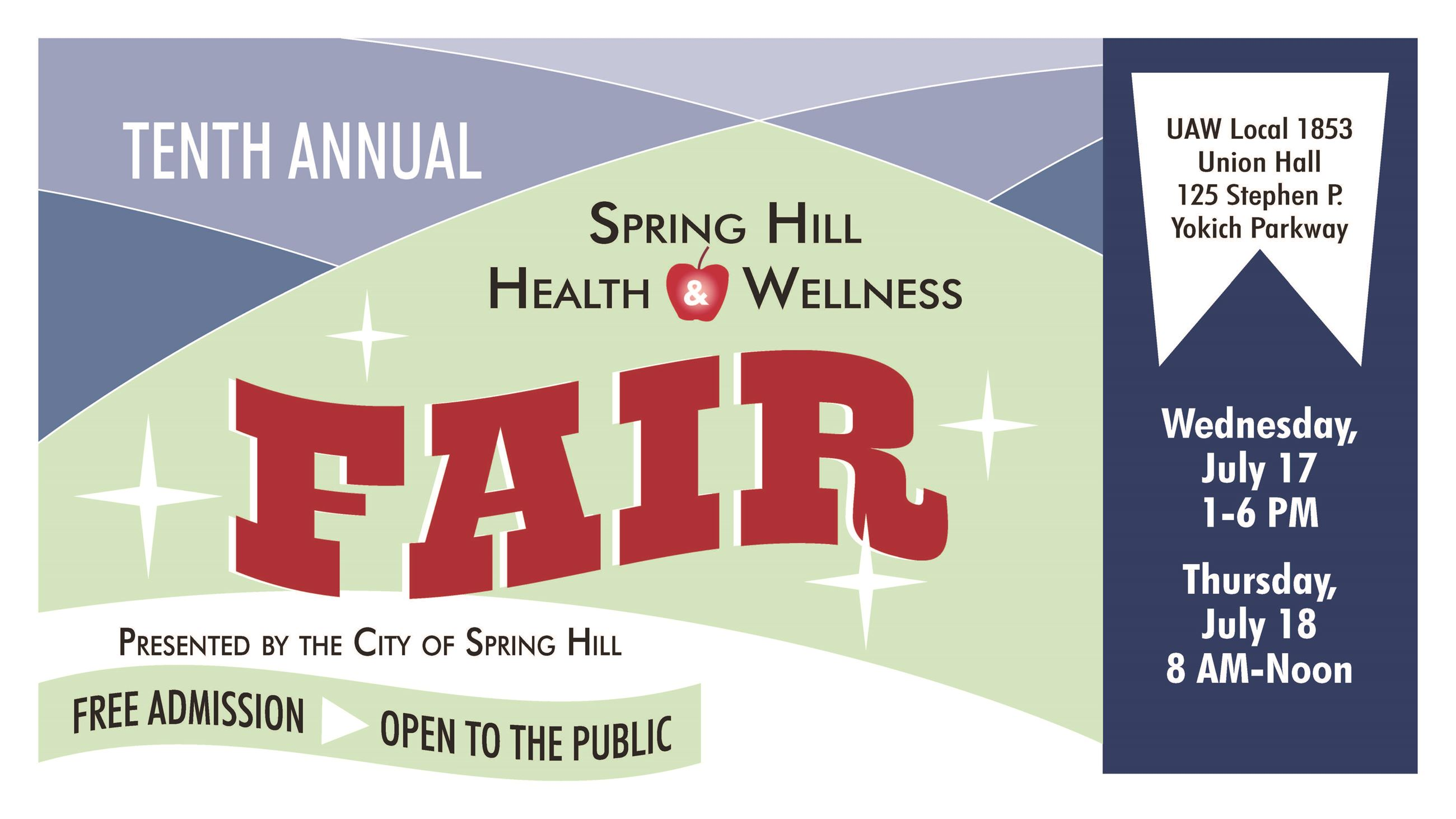 Health and Wellness Fair 2019