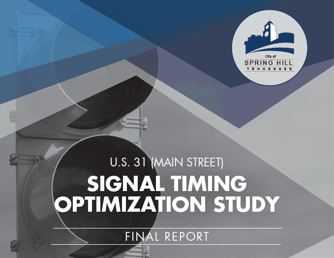 Traffic Signal Timing Optimization Report