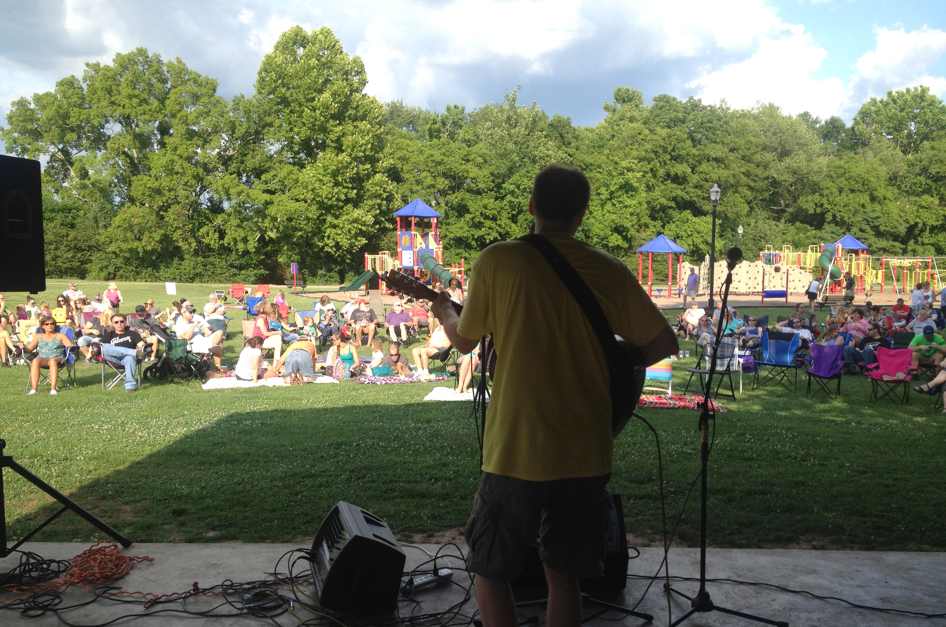 Spring Hill Picking in the Park Live Music Series